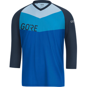GORE WEAR C5 All Mountain 3/4 Jersey Men dynamic cyan/marine blue